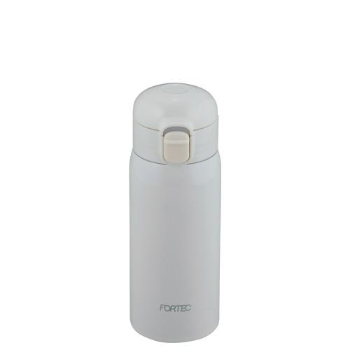 フォルテック ワンタッチ栓スーパーライトマグボトル350ml(ホワイト)