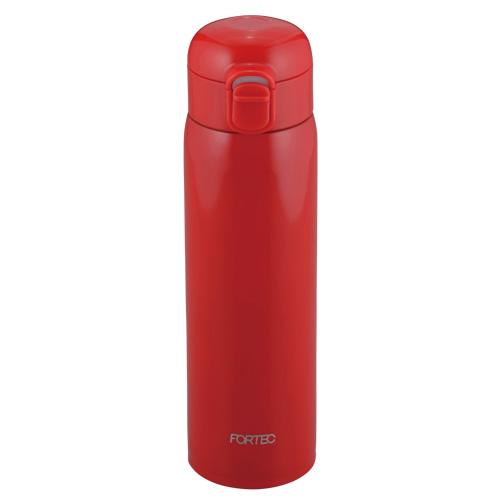 フォルテック ワンタッチ栓スーパーライトマグボトル500ml(レッド)