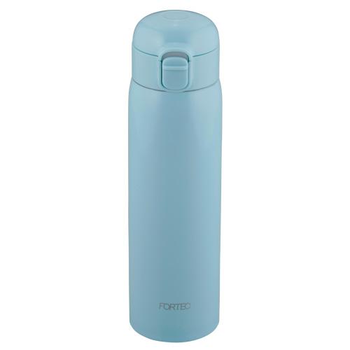 フォルテック ワンタッチ栓スーパーライトマグボトル500ml(ライトブルー)