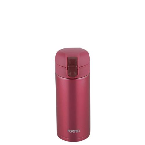 フォルテック ワンタッチ栓マグボトル370ml(レッド)