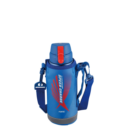 フォルテック ワンタッチ栓ダイレクトボトル0.6L(ブルー)
