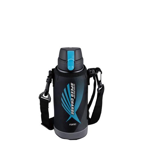 フォルテック ワンタッチ栓ダイレクトボトル0.6L(ブラック)