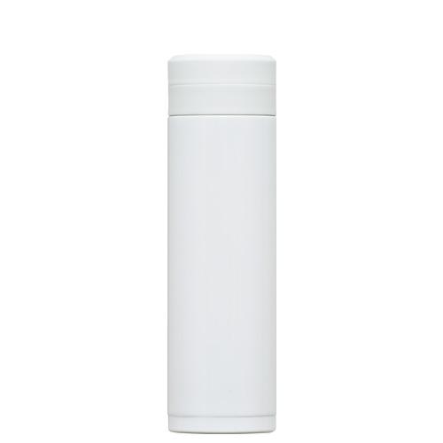 オミット スクリュー栓スリムマグボトル300ml ホワイト