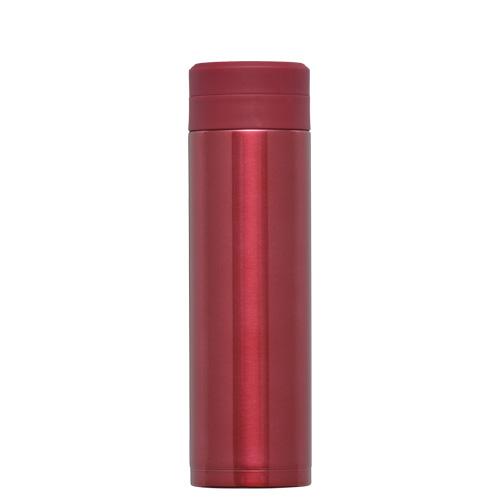 オミット スクリュー栓スリムマグボトル300ml レッド