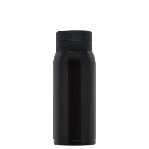 オミット スクリュー栓スリムマグボトル350ml ブラック