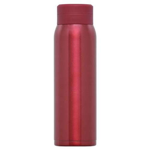 オミット スクリュー栓スリムマグボトル500ml レッド