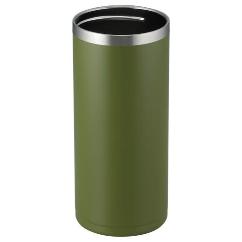 フォルテック 缶クールキーパー500ml缶用 フォレストグリーン