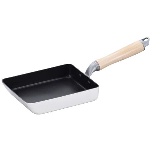 白いパン IH対応玉子焼13×18cm