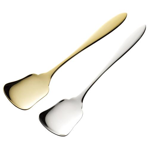 ボンメルト 銅製アイスクリームスプーンセット(ゴールド&シルバー)