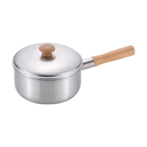 千歳 木柄片手鍋18cm