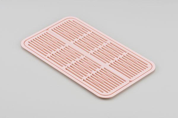 YOHAKU(ヨハク)シンクオン シンプルグラストレイ ブラッシュピンク