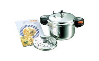 料理超 アルミ圧力鍋6L
