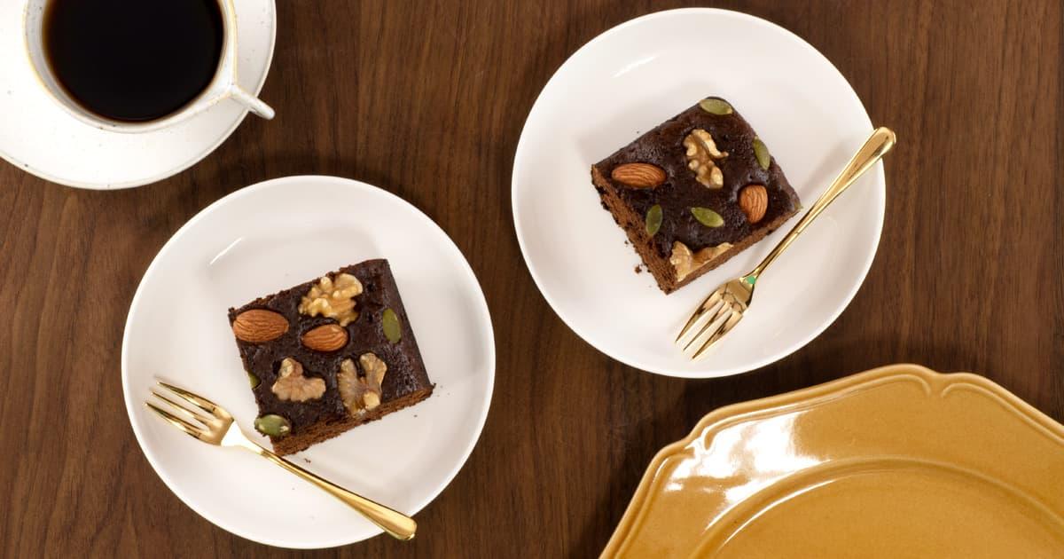 玉子焼き器で作るチョコレートケーキ