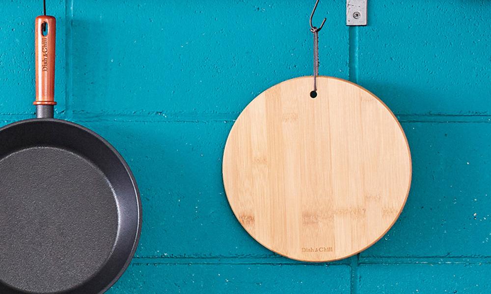 Dish&Chill(ディッシュアンドチル) バンブー鍋敷き