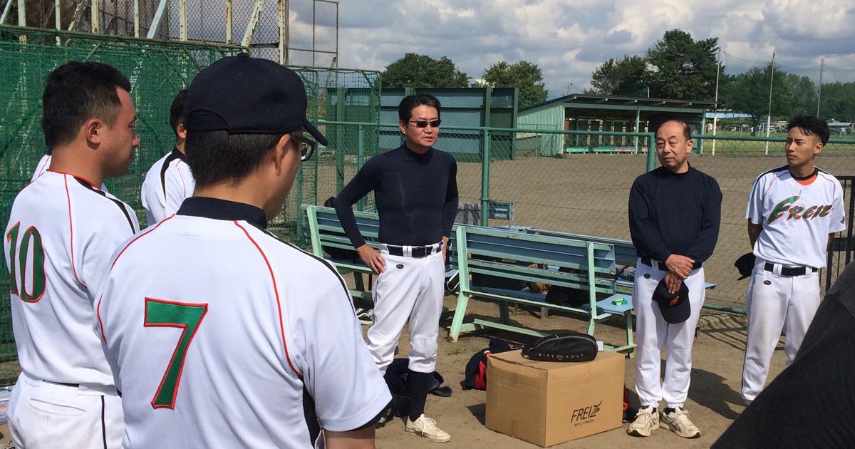 和平フレイズ野球クラブ創設者 林田 雅彦