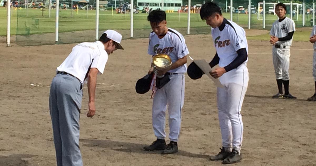 平成29年度三条野球連盟会長杯大会Cクラス 優勝