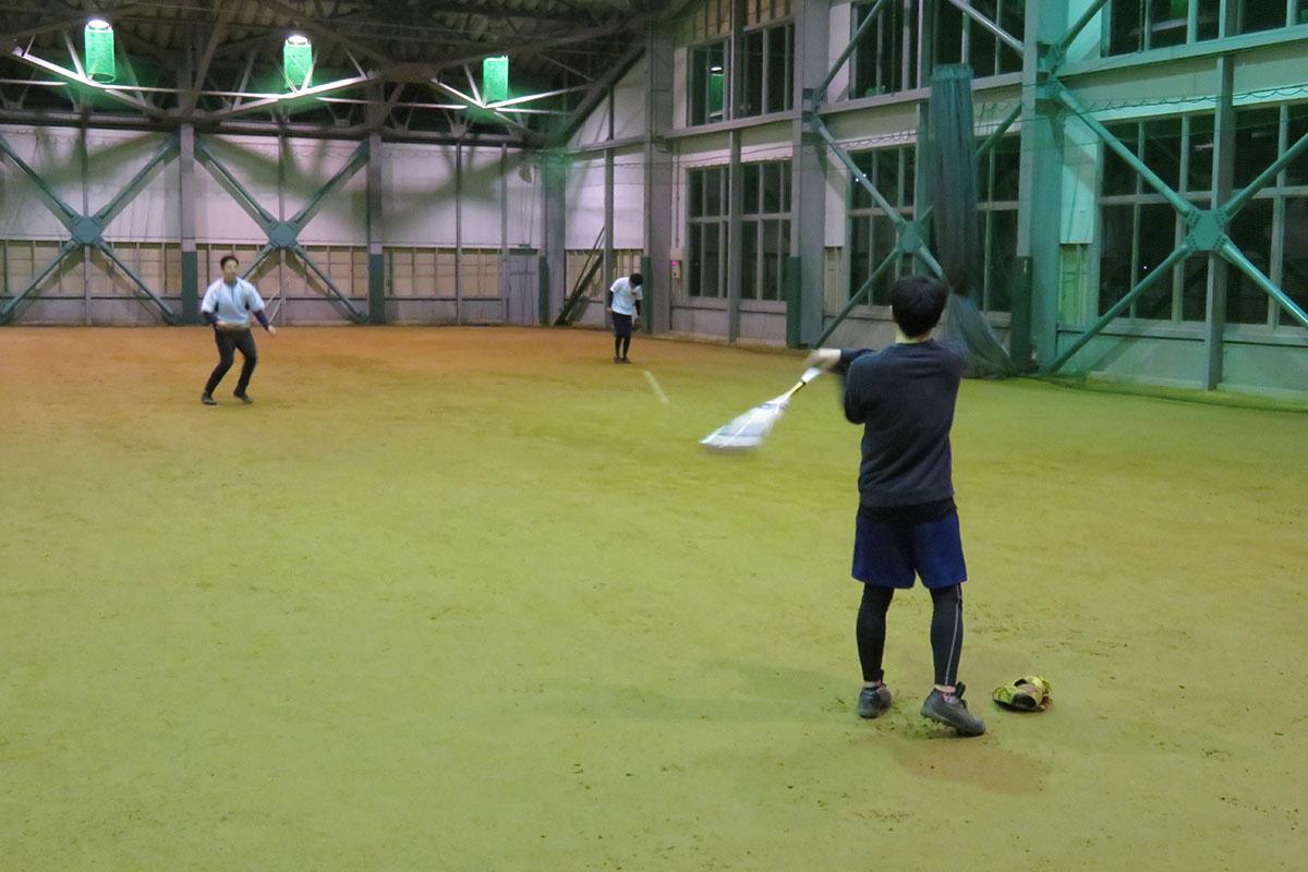 和平フレイズ野球クラブ 3月練習風景
