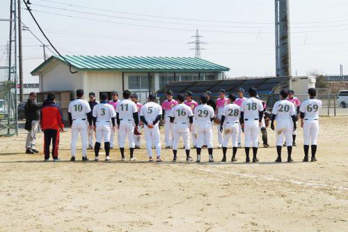 和平フレイズ野球クラブ 3月練習試合