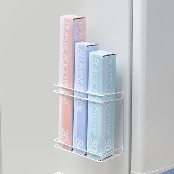 マグネット式のものは冷蔵庫などに簡単に取り付けできます。