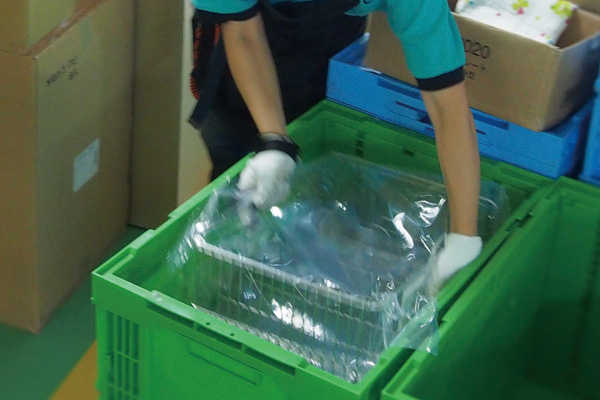 多品種・小ロットに対応した出荷体制を確立しています