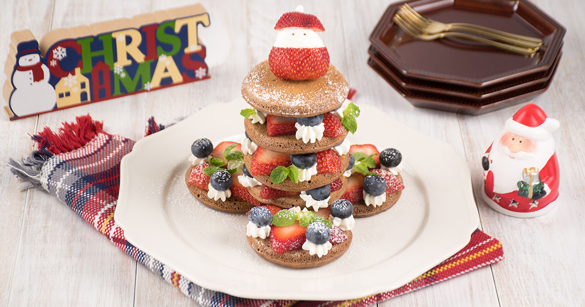 サンタさんのパンケーキタワーハウス