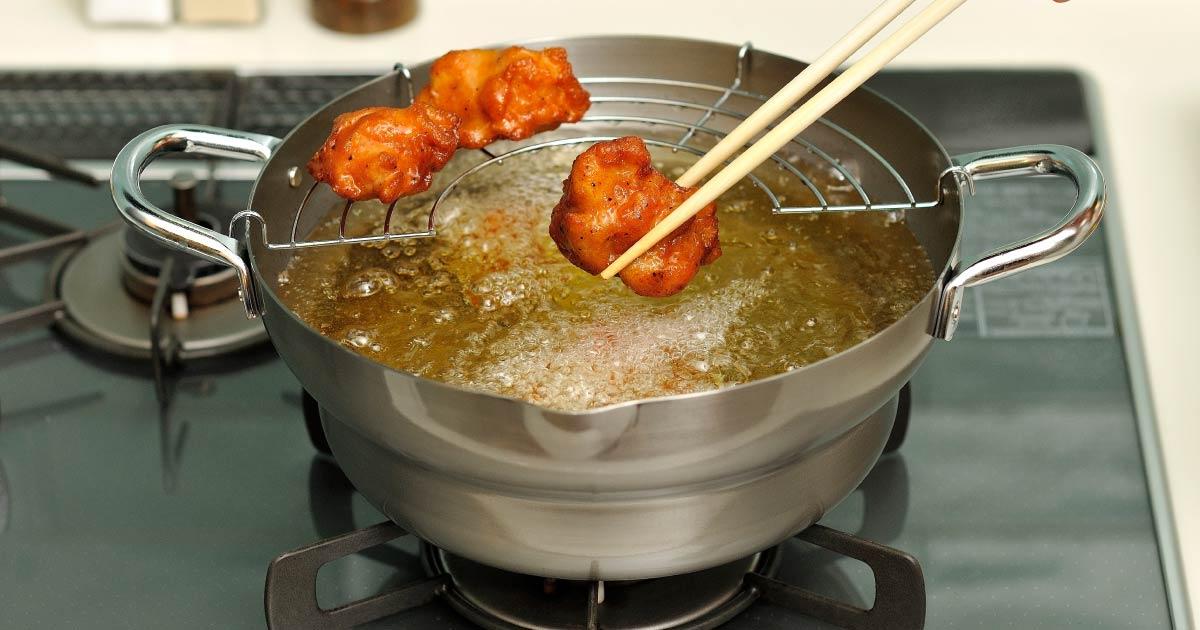 千歳(ちとせ)鉄揚げ鍋