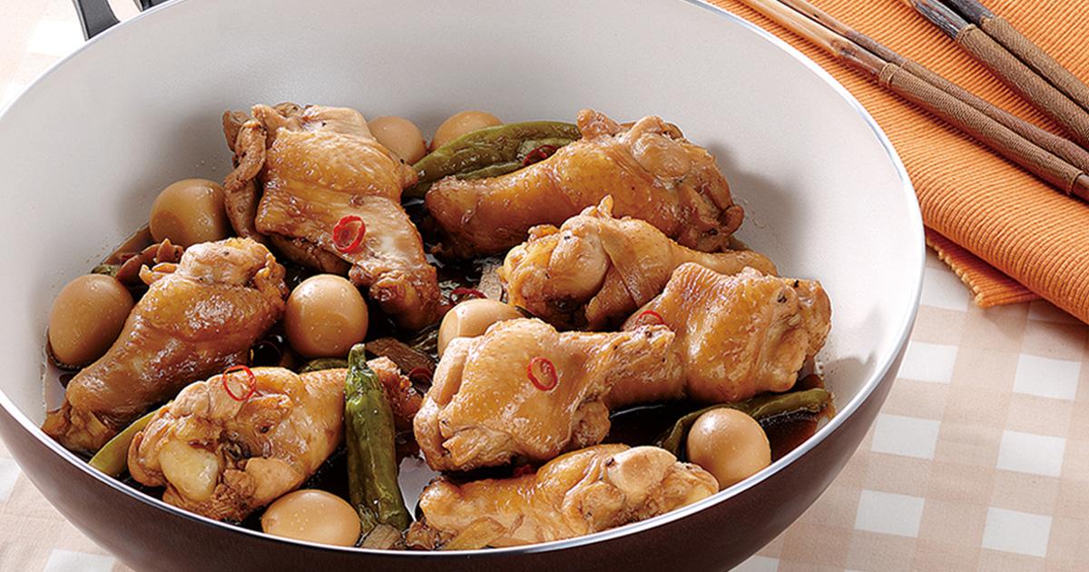 鶏のスタミナ煮