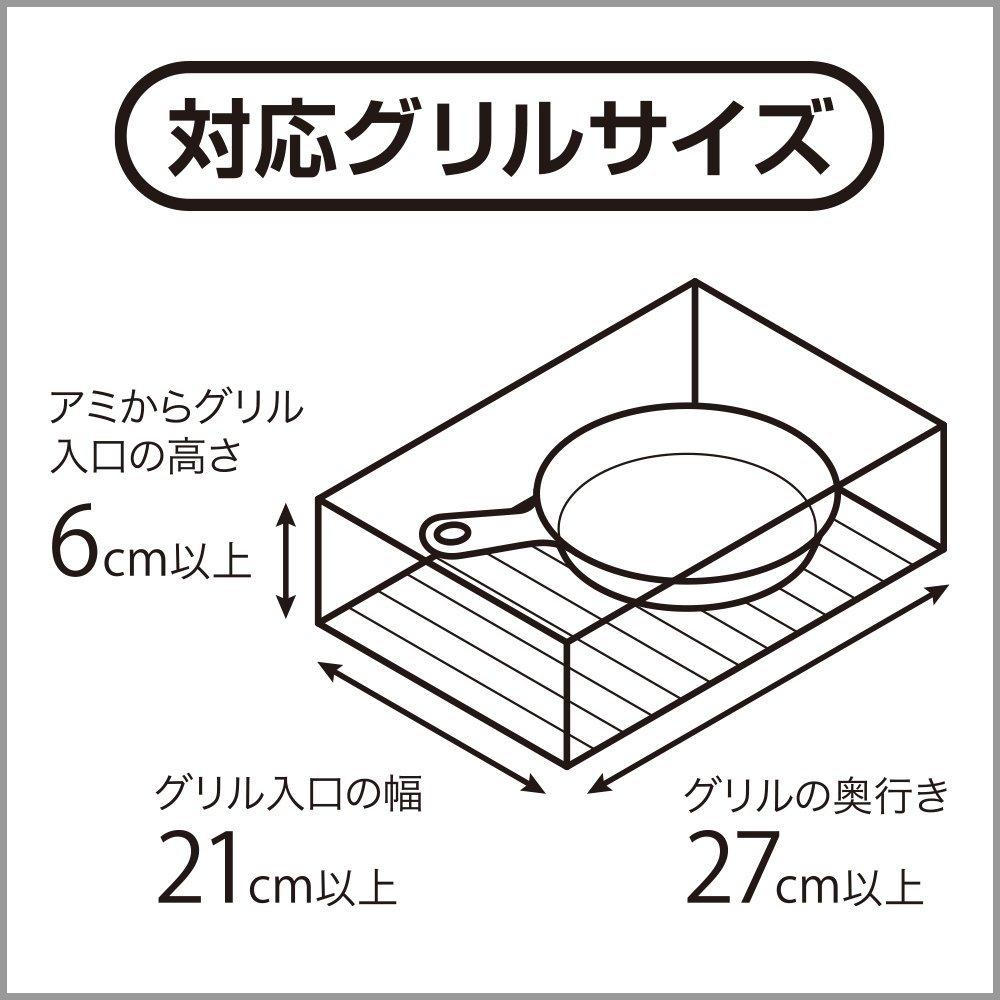 グリさらパン 対応グリルサイズ
