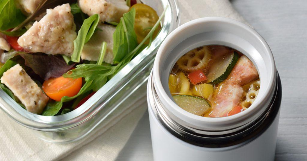 ショートパスタスープ