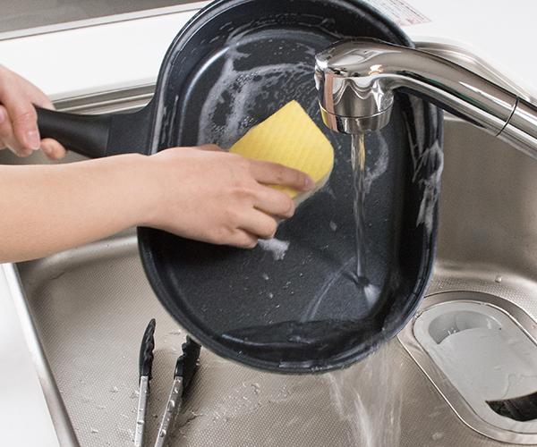 使うのは2つだけ、洗い物が減って時短