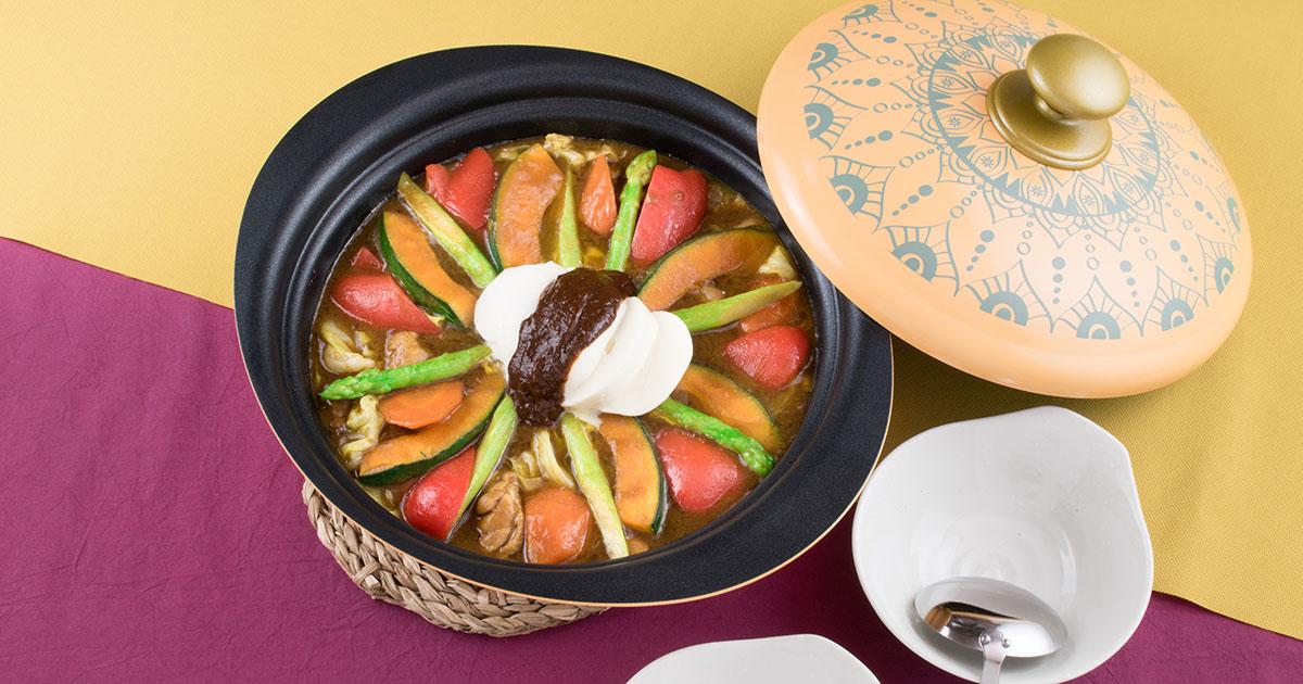 麻辣チーズカレー鍋