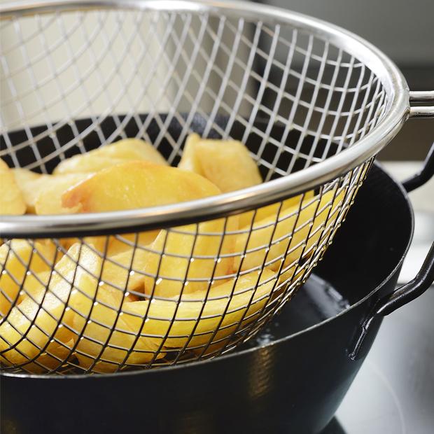 鉄揚げ鍋セット