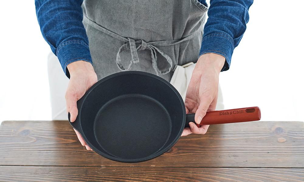 Dish&Chill(ディッシュアンドチル) IH対応オンザテーブルパン 20cm