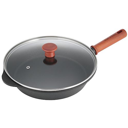 Dish&Chill(ディッシュアンドチル) IH対応ガラス蓋付オンザテーブルパン 26cm