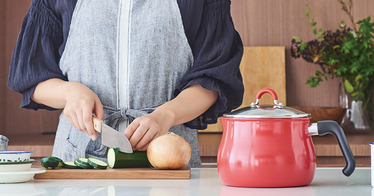 1度に最大7種類のおかずを調理できるミニフライパン