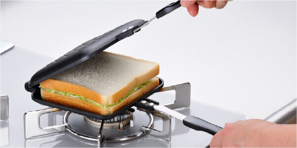 あつほかダイニング ホットサンドパン