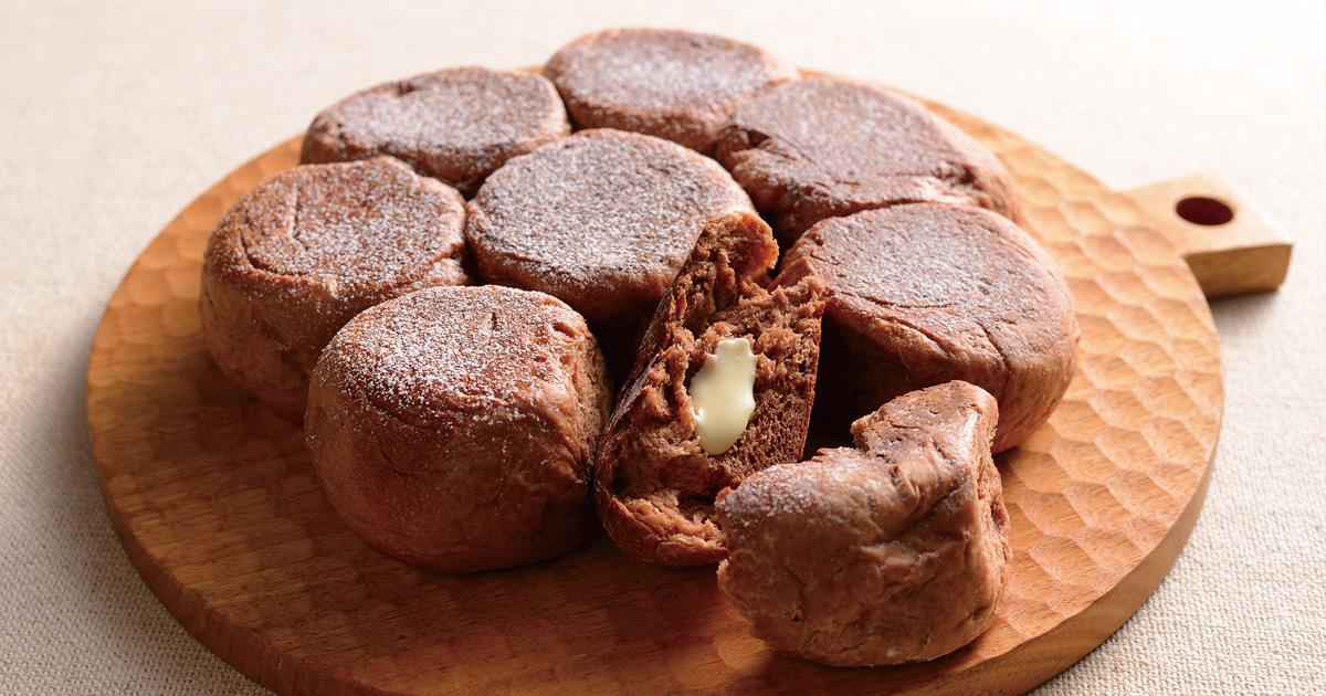 フライパンで作る!チョコちぎりパン