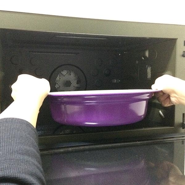 蓋を外せば、オーブン調理ができます。