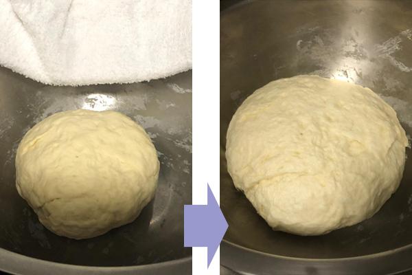 発酵前 → 発酵後