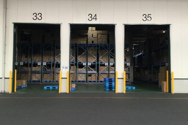 当社本社の物流倉庫で開催