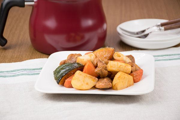 グリルチキンとごろごろ野菜のロースト ~BBQソース~