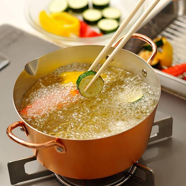 銅鍋・銅揚げ鍋