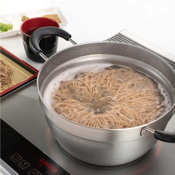 【匠弥】ふきこぼれにくい片手鍋・両手鍋