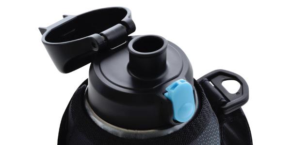 ワンタッチ栓の水筒