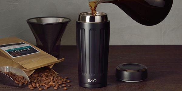 デザイン性に優れた、シンプルなスクリュー栓のタンブラー IMIO(イミオ) ポーダブルタンブラー