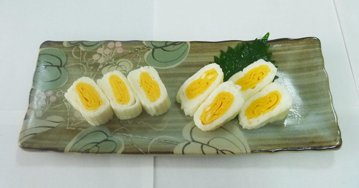 二色卵焼き