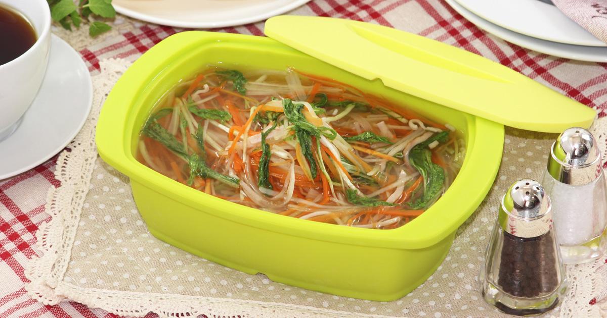 たっぷり野菜のジュリエンヌスープ