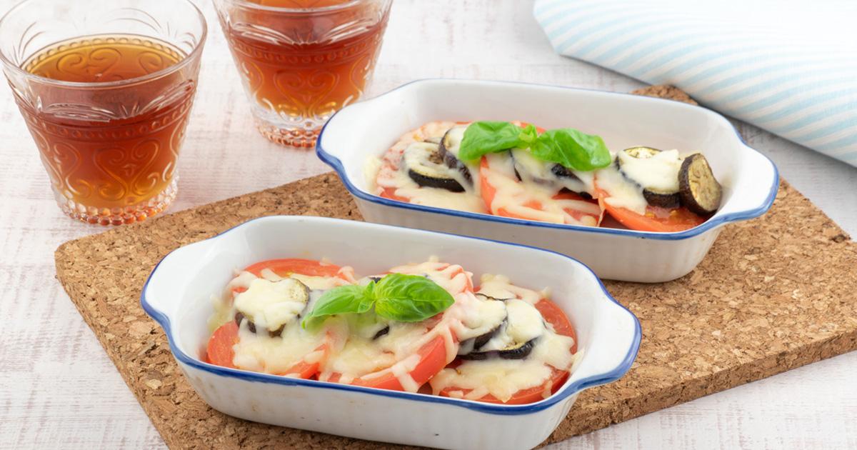 焼きチーズトマト