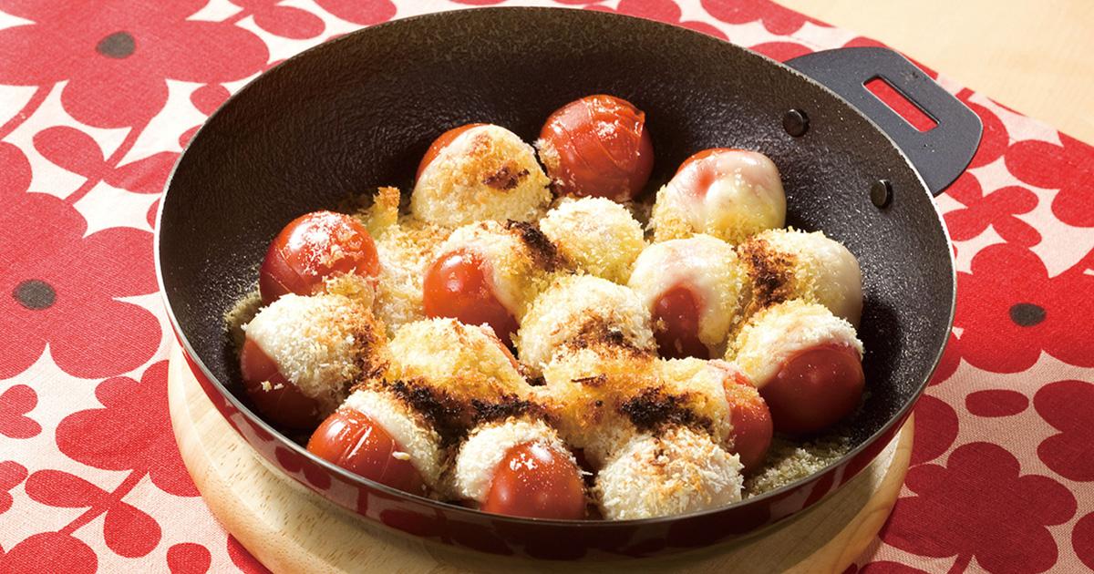 ミニトマトのチーズ焼き