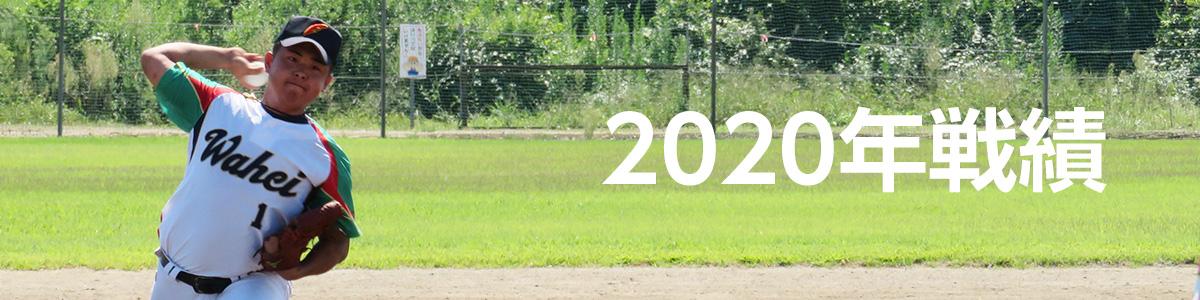 2020年戦績